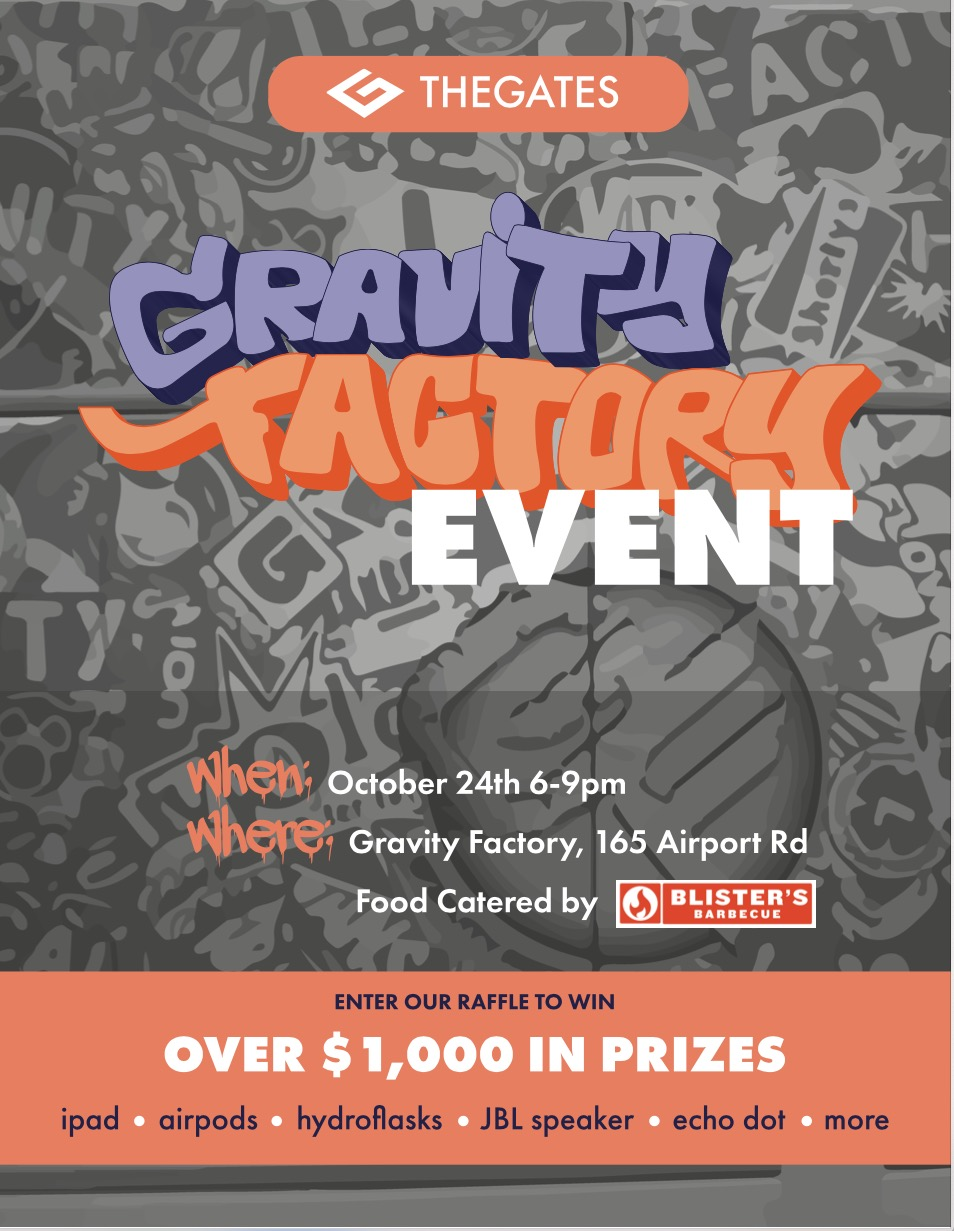 Gravity Factory Event!